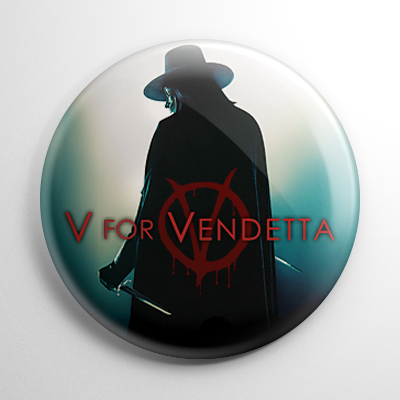 V for Vendetta (B) Button