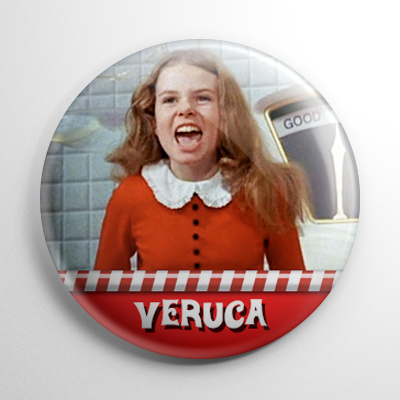 Willy Wonka - Veruca Salt Button