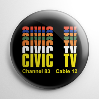 Videodrome Civic TV Button