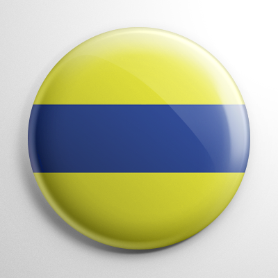 Nautical Flag D Button