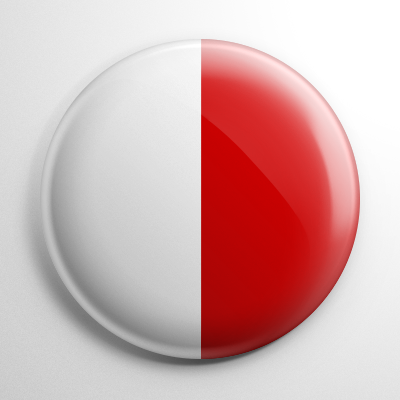 Nautical Flag H Button