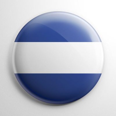 Nautical Flag J Button
