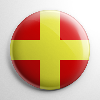 Nautical Flag R Button