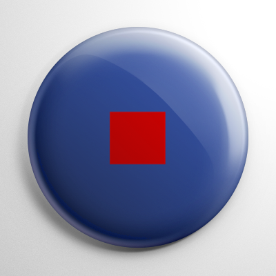 Nautical Flag W Button