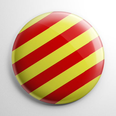 Nautical Flag Y Button