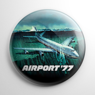 Airport '77 Button