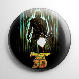 Friday the 13th Part 3 Button