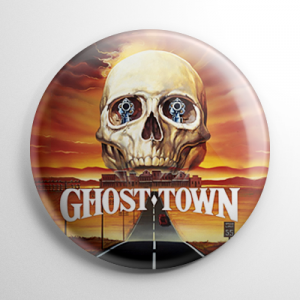 Ghost Town Button