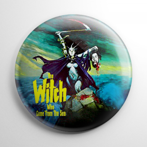 Witch Who Came From the Sea Button