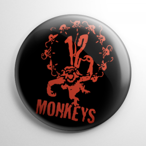 12 Monkeys Button