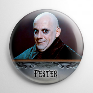 The Addams Family Movie Fester Button