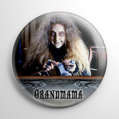 The Addams Family Movie Grandmama Button