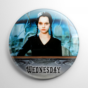 The Addams Family Movie Wednesday (A) Button
