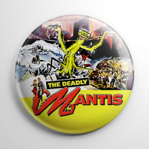 Deadly Mantis Button