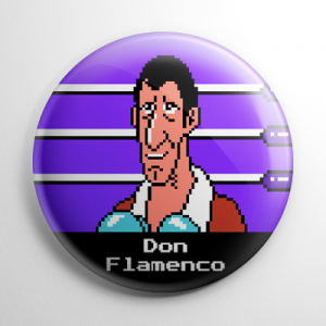 Punch Out - Don Flamenco Button