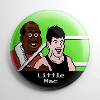 Punch Out – Little Mac Button