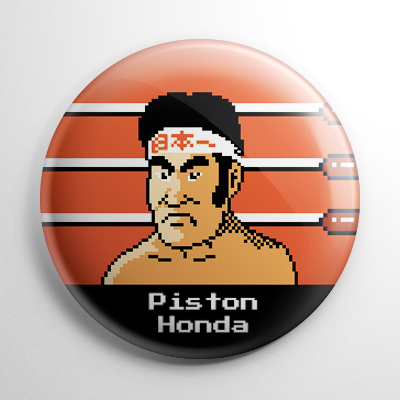Punch Out – Piston Honda Button