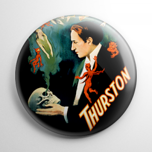 Thurston the Magician Button