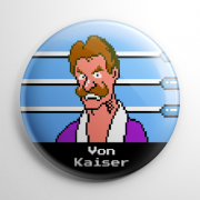 Punch Out - Von Kaiser Button