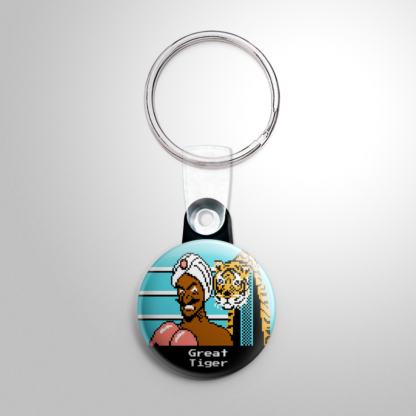 Video Games - Punch Out: Great Tiger Keychain