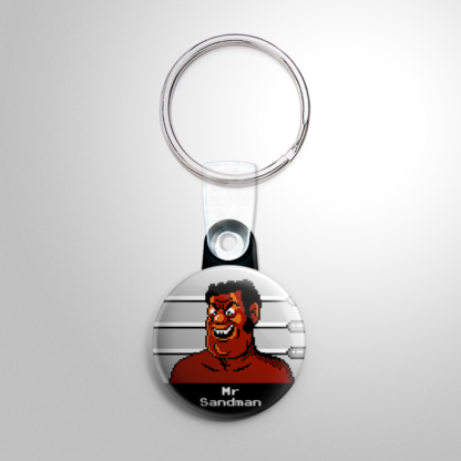 Video Games - Punch Out: Mr Sandman Keychain