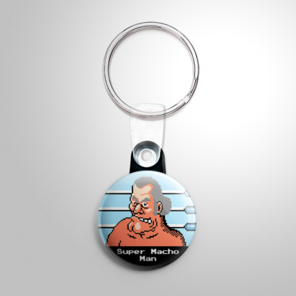 Video Games - Punch Out: Super Macho Man Keychain