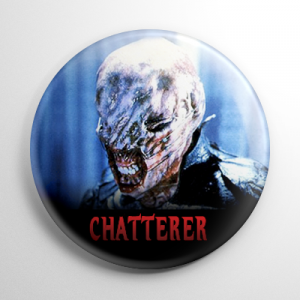 Hellraiser Cenobite - Chatterer Button