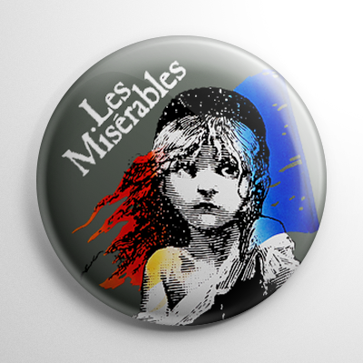 Les Miserables Button