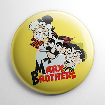 Marx Brothers Button