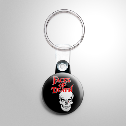 Horror - Faces of Death Keychain