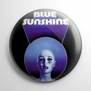 Blue Sunshine (A) Button