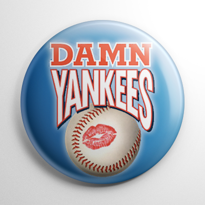 Damn Yankees (A) Button