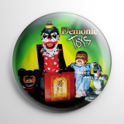 Demonic Toys Button