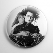Edward Scissorhands and Kim Button