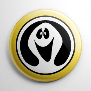Ghostbusters (D) Button