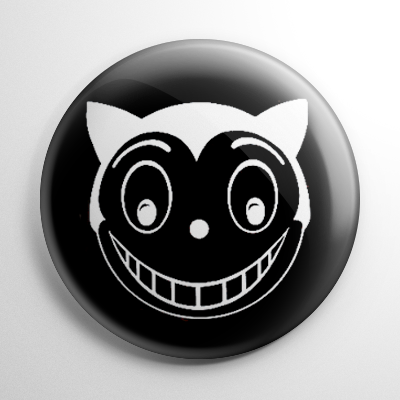 Batman Max Shreck Smiling Cat Button