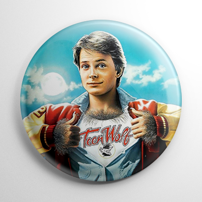 Teen Wolf Button