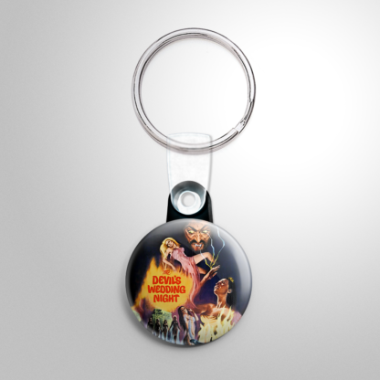 Horror - Devil's Wedding Night Keychain