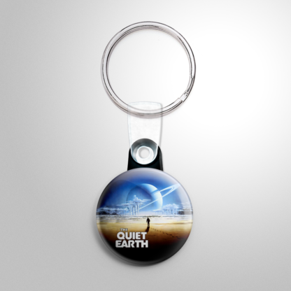 Science Fiction - Quiet Earth Keychain