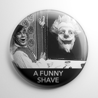 A Funny Shave Button