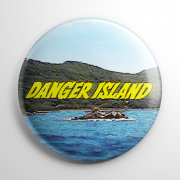 Danger Island Button