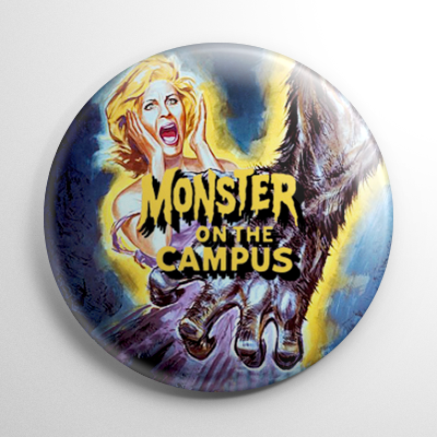 Monster on the Campus Button