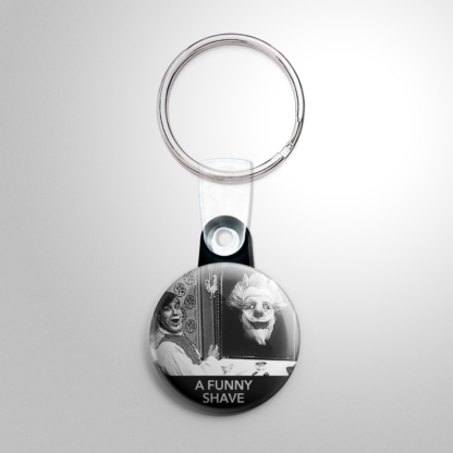 Horror - A Funny Shave Keychain