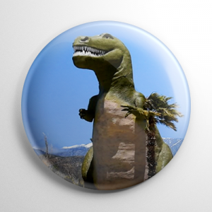 Cabazon Dinosaurs (A) Button
