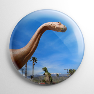 Cabazon Dinosaurs (B) Button
