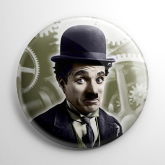 Charlie Chaplin Button