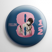 Fellini's 8½ (A) Button