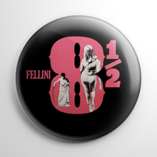 Fellini's 8½ (B) Button