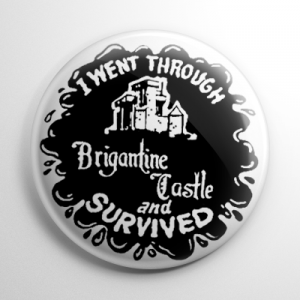 Brigantine Castle (A) Button
