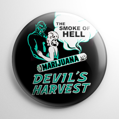Devil's Harvest Button